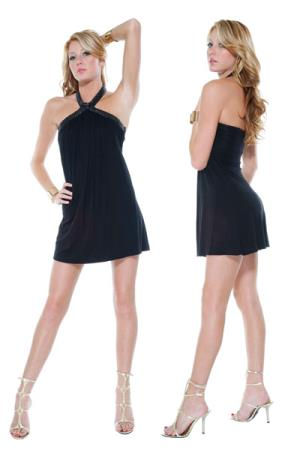 MINI VESTIDO DREAM WEAVER BLACK