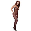 CATSUIT LATERAL HOLES BLACK